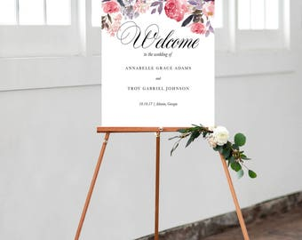 White Wedding Easel 3 Foot Wooden Sign Display For Pictures