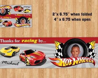 Hot Wheels Candy Bag Label!
