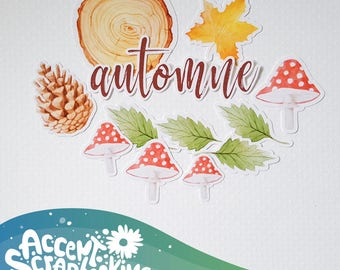"Set of cut-out ""Autumn"" (Etsy exclusive)"