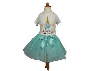 Girl Unicorn Tutu Birthday Outfit Girl tutu outfit  baby tutu outfit birthday tutu dress girl Tutu outfits Girl Birthday tutu toddler tutu