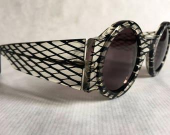 Claude Montana 531-280 Vintage Sunglasses Made in France in 1986 New Unworn Deadstock