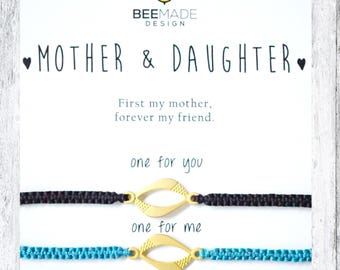 matching bracelets for mother daughter gifts macrame bracelets for 2 valentines day gift for daughter valentines