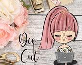 Die Cut- Cute Dolls- Girlboss/Student