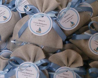 Set of 20 Bags Pearl Grey-wedding favors