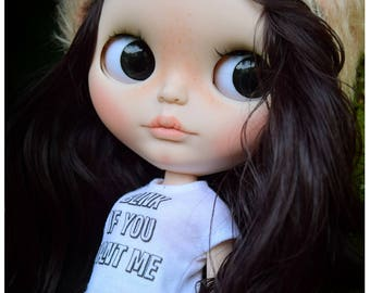 "Custom Blythe Dolls For Sale by OOAK Blythe Doll Custom #40 ""Izzy"" by Ginas.Doll.ART – lay aways / payment plan accepted"
