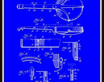 Banjo Patent #519409 dated May 8, 1894.