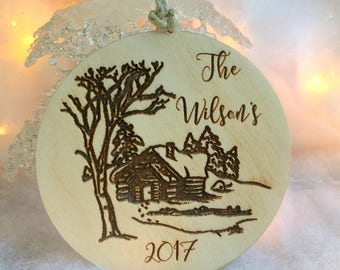 Christmas Ornament, Personalized Ornament, Christmas Ornament Handmade,Christmas Gift, Stocking Stuffer, First Christmas Family