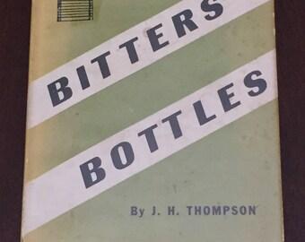 Bitters Bottles, 1947 vintage book