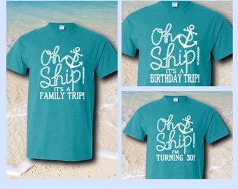 Oh Ship! Custom Cruise Shirts