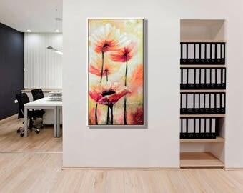 Wall Art Canvas Print, Modern Wall Art for Office Decor, Modern Art Print, Wall Pictures Art for Office Modern Office Decor, Home Office