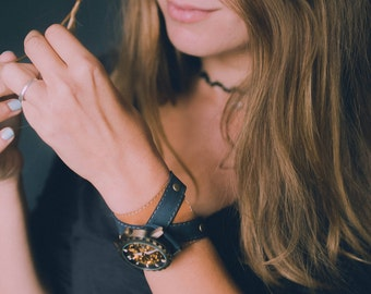 Wrist watches for women, steampunk watch, women watch, leather bracelet, leather watch band, women watches, watches for women, retro watches