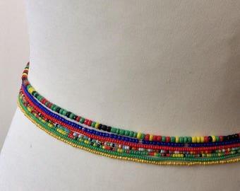 Waist beads, 7 X Waist beads , Jewelry making
