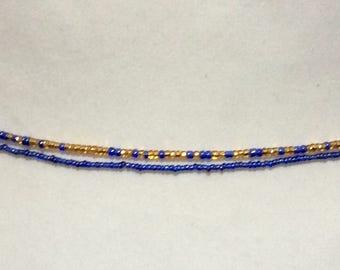 Waist beads,  2 X African beads