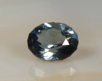 Blue Montana Sapphire Oval cut Faceted gemstone 1.2 ct. Natural unheated gemstone loose Sapphire