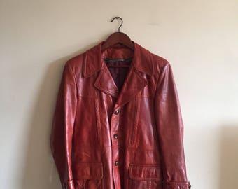 Vintage 1970s Leather Jacket.