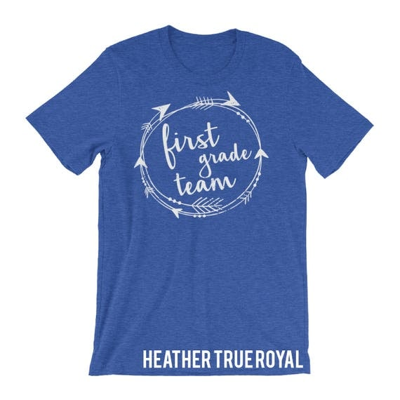 Tribal Teacher T-shirt | First, Second, Third, and Fourth Grade Level Short Sleeve T-shirt for Elementary Teachers