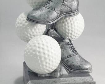 Golf Sports Coin Bank - 73621GS - FREE ENGRAVING - Money Bank