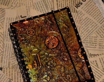Post apocalyptic Steampunk Destroy customized notebook