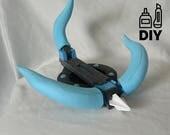 DIY: Monster Hunter World Slinger template for EVA foam