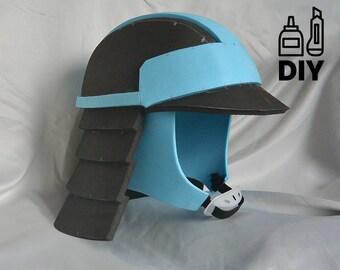 DIY Star Wars: The Last Jedi - Canto Bight Police helmet template for EVA foam