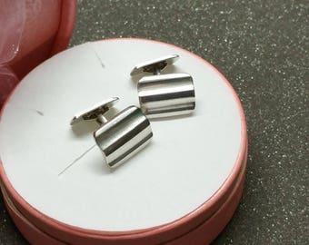 Cufflinks, silver cufflinks RIWA MS167