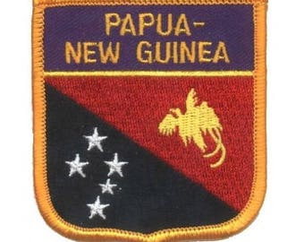 Papua New Guinea Patch (Iron on)