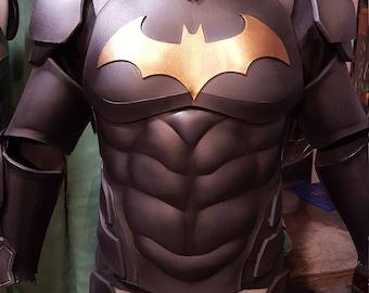 Batman Arkham Knight Keaton Hybrid foam TEMPLATES complete armor kit