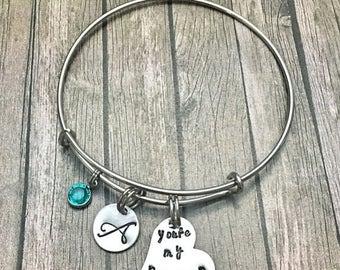 20%OFF Summer Sale- You're my person - Best friend - Bracelet - Youre my person - Best friend gift - Personalized jewelry - Best friend