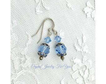 Bridesmaid Earrings, Bridesmaid Jewelry, Bridal Party Earrings, Birthstone Earrings