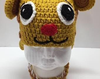 Tiger crochet hat, tiger hat