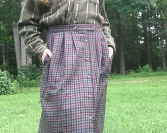 Wool-Polyester Hiking/Weather Skirt