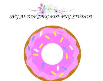 Donut-SVG-Cutfile