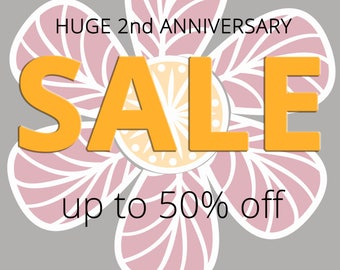 Huge anniversary sale! Check out section titled SALE! to see newly reduced listings: bracelets, necklaces, earrings prices reduced up to 50%