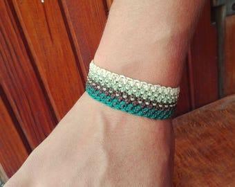 Brazilian bracelet / Macrame bracelet