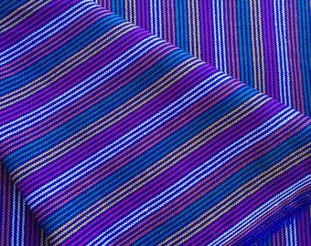 Mexican Rebozo, Blue Mexican Blanket, blue Mexican Fabric, Blue Mexican Table Runner, Mexican Table cloth, Frida Kahlo aztec fabric, Serape