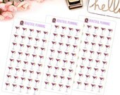 Cocktail Planner Stickers Date Night Girls night out, Wine Time For use in ERIN CONDREN LIFEPLANNER ™ Happy Planner, Filofax, Tn, Kate Spade