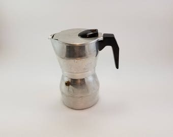 Vintage ESPRESSO Coffee MAKER - Made in Italy Susy Express - Luxa Express Coffee Maker - Camping Coffee Maker - Glamping