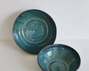 Small Blue Nesting Bowl