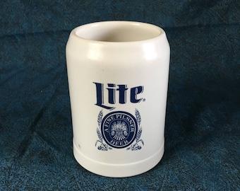 Vintage Ceramarte Lite Beer Stein, Father's Day Tankard