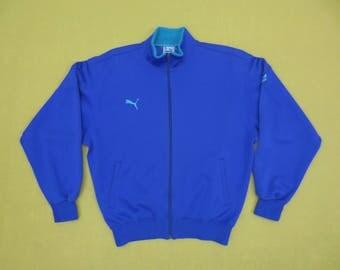 Puma Jacket Vintage Puma Windbreaker 90s Puma Vintage Activewear Mens Size S