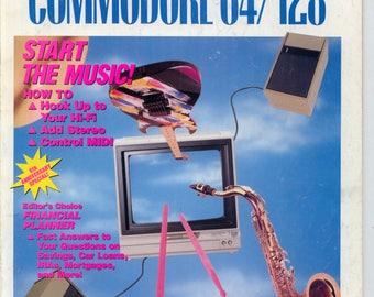Compute!'s Gazette Magazine July 1989 Very Good