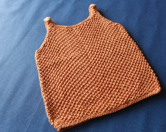 Jersey-knit sweater for girls