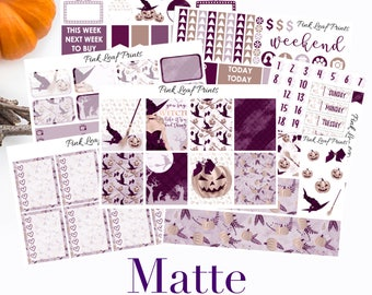 MATTE | Witching Hour | Weekly Planner Sticker Kit