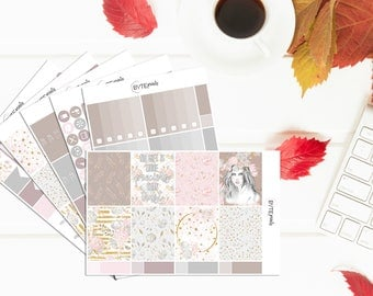 Trust || FULL Weekly Kit || Stickers for use with the Erin Condren Life Planner