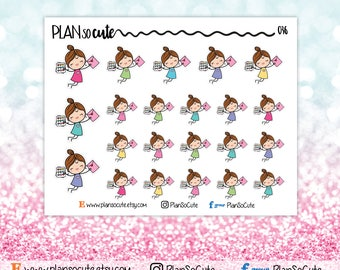 Happy mail Stickers, Planner Stickers -036