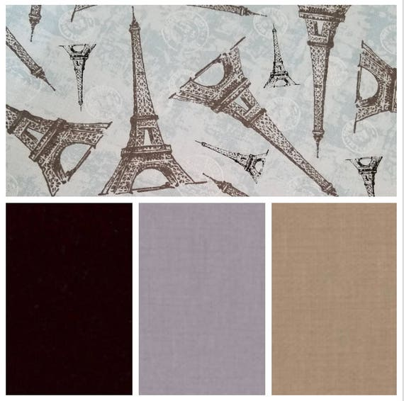 Eiffel Tower, Weighted Blanket, Cotton, Up to Twin Size, 3 to 20 Pounds, 3 to 20 lb, Adult Weighted Blanket, SPD, Autism, Calming Blanket