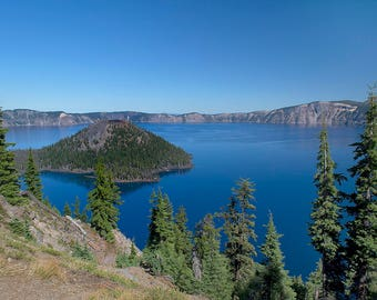 Photo Print of Crater Lake