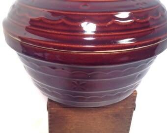 Harcrest, Marcrest, stoneware bowl, large
