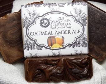 Oatmeal Amber Ale Soap