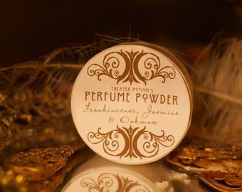 Vanity Powder by Theater Potion Natural Bath Powder, dusting powder, essential oils, natural dusting powder